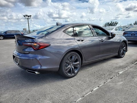 2021 acura tlx sh-awd with a-spec package in doral, fl